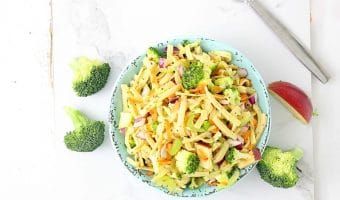 Honey Crisp Apple Broccoli Salad