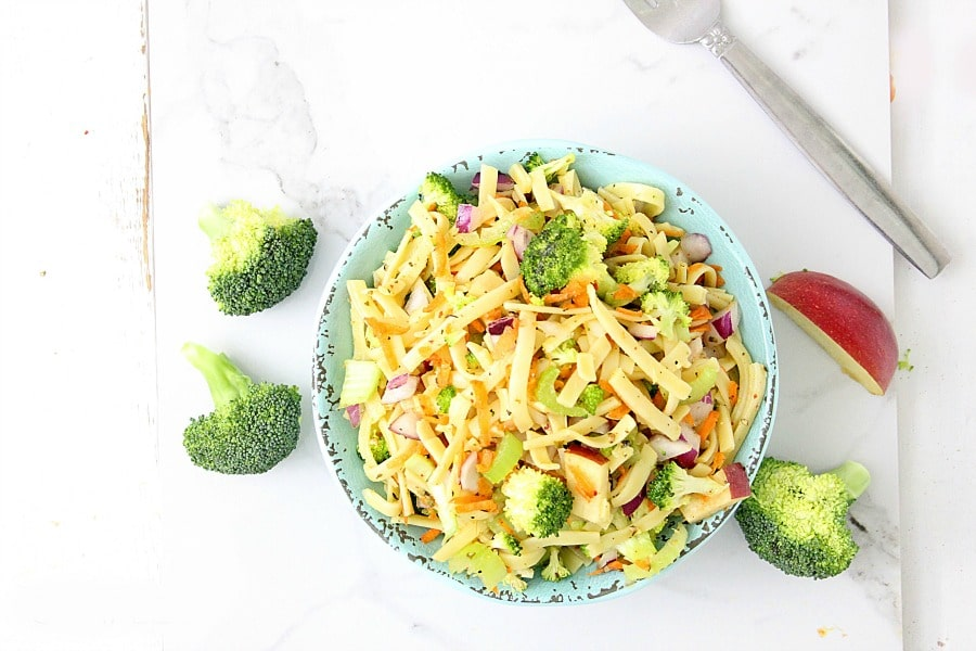Honey Crisp Broccoli Salad