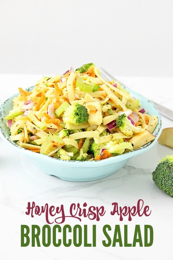 Honey Crisp Apple Broccoli Salad Recipe