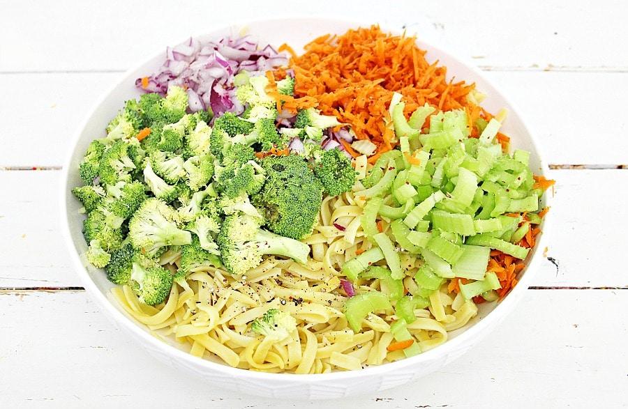 Honey Crisp Broccoli Salad