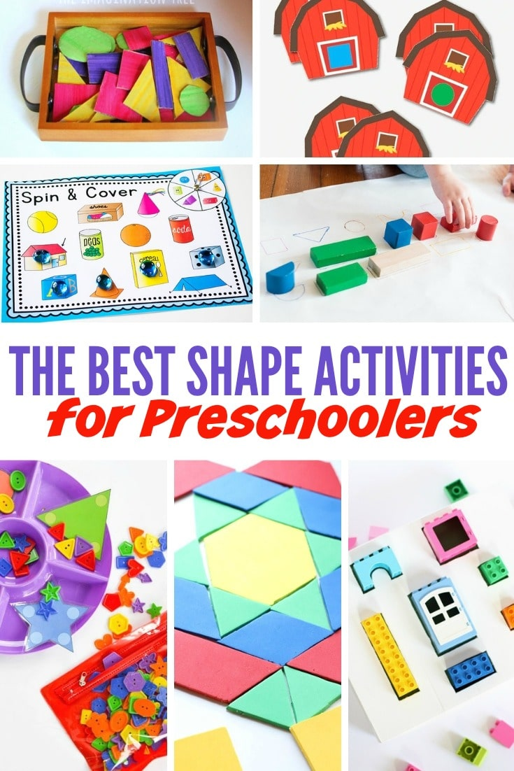 The Best Shape Activities For Preschoolers