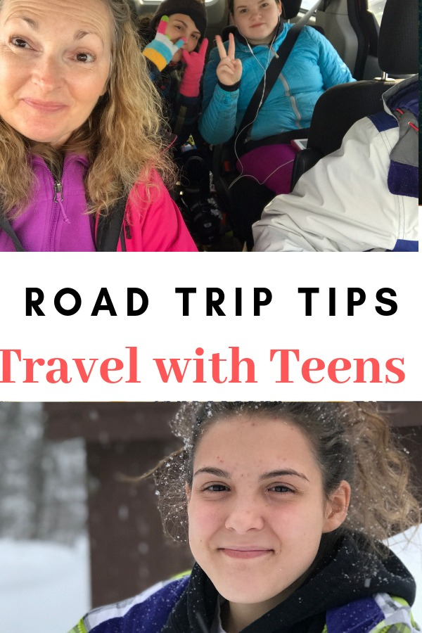 Road Trip Tips for travel with your teen children