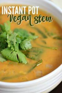Instant Pot Vegan Stew