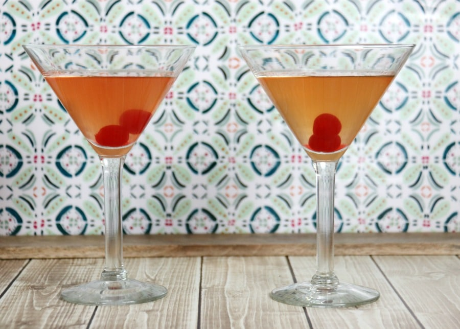 Passion Martini - shaken and chilled