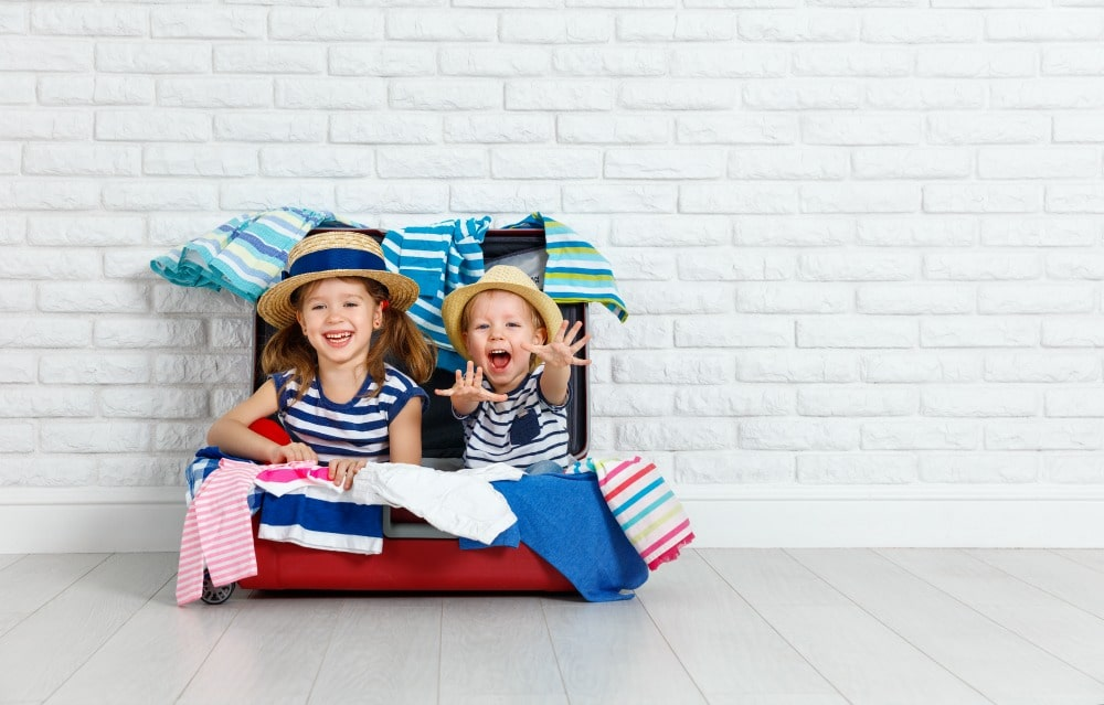 Tips for Packing Kids Suitcases