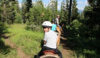 Exploring McCall Idaho by Foot and Horseback