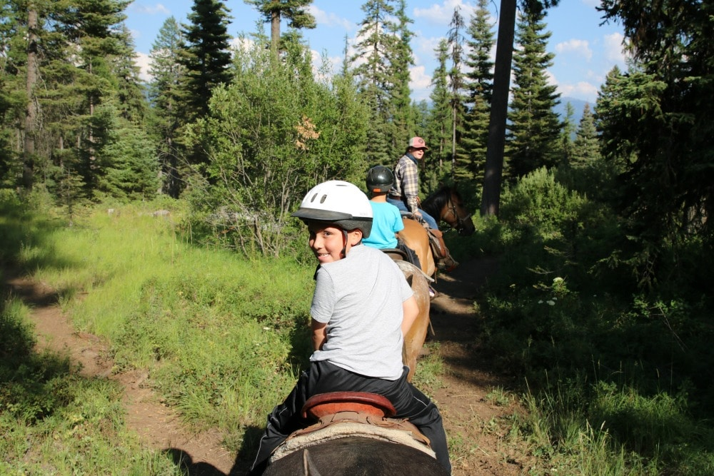McCall Idaho Trail Riding