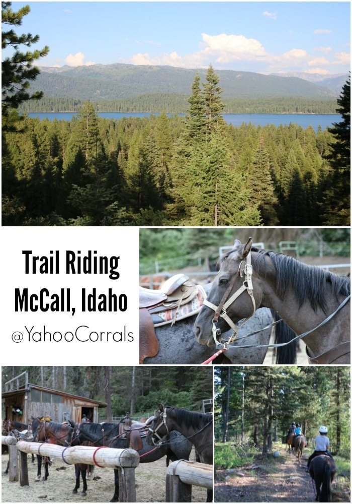 Horseback Riding McCall Idaho