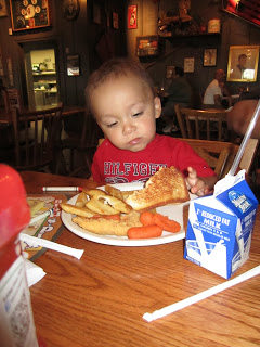 Cracker Barrel grilled cheese
